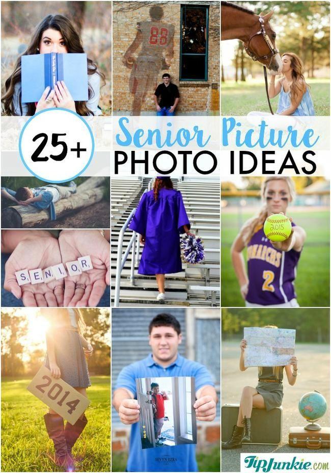 25+ Senior Picture Photo Ideas | Art & Crafts | Senior