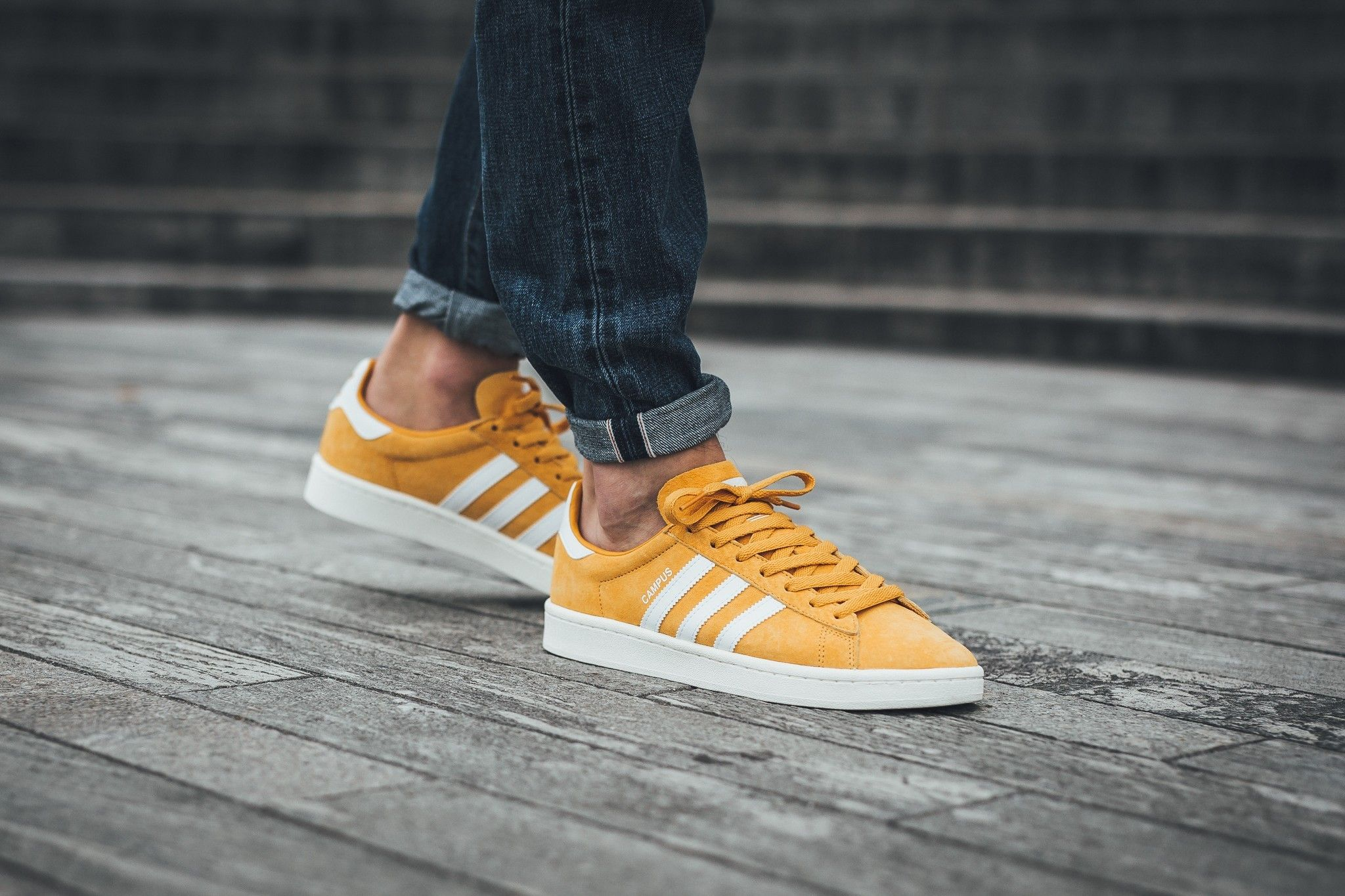 a6cdd2c1efb0 Discount adidas Campus Tactile Yellow Footwear White BZ0088 -  nicestylebay.com
