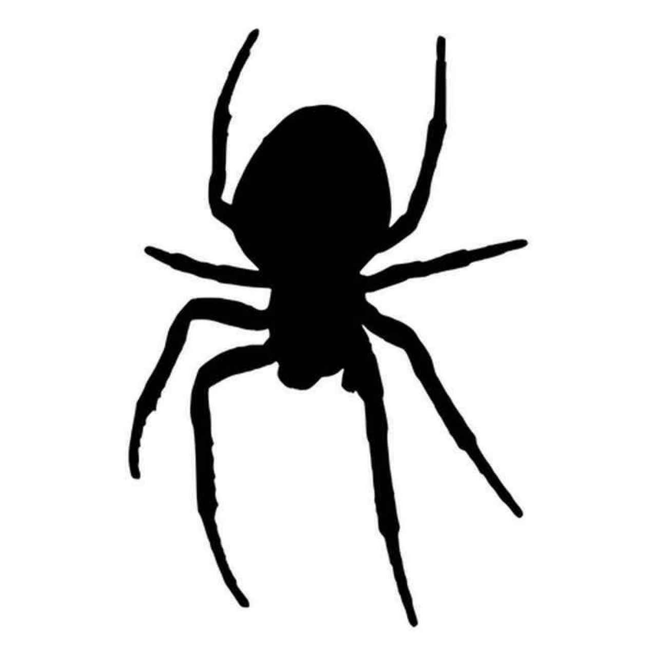 BROWN RECLUSE SPIDER Vinyl Decal Sticker Car Window Wall Bumper Creepy Arachnid