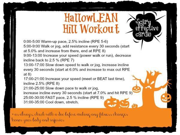 treadmill hill workout