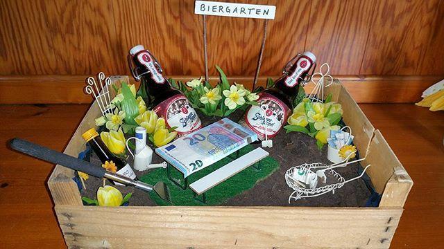 Geldgeschenk Biergarten Geschenke Geldgeschenke Biergarten