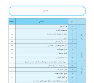 دليل المعلم لمبحث اللغة العربية للصف العاشر الفصلين الاول والثاني Blog Blog Posts Map