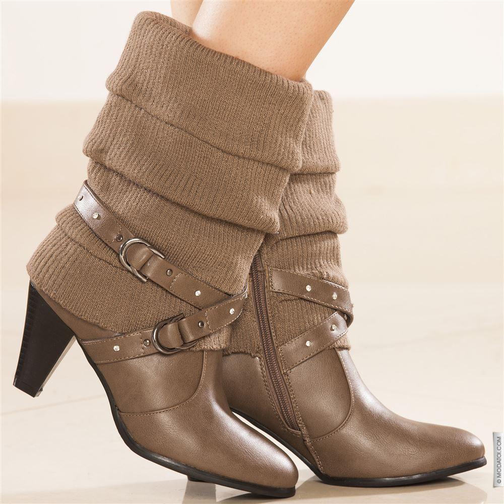 Stivali donna donna cachi taglia 38, comprare in linea Stivali donna donna su MODATOI