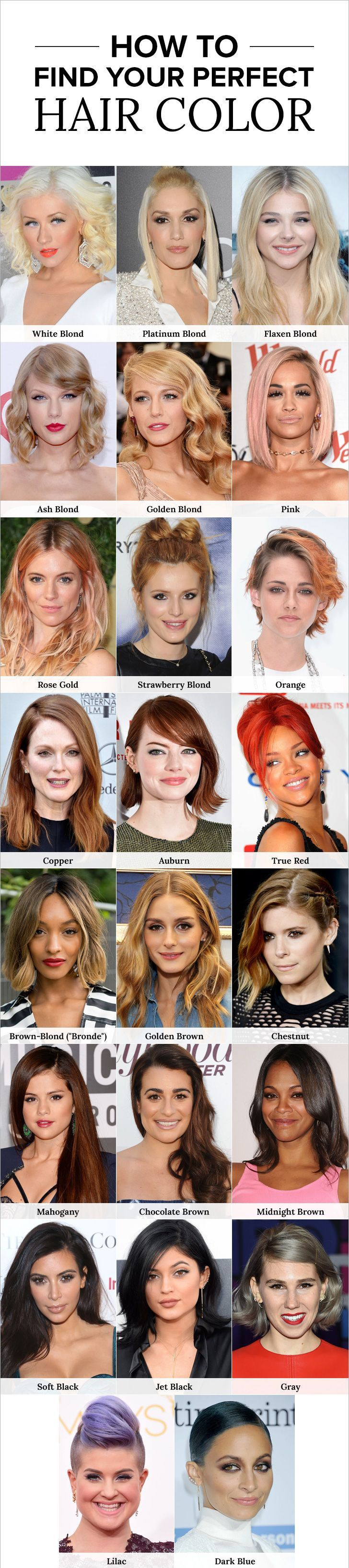 Find Your Perfect New Hair Color Before Your Next Salon Visit#Haircolor#