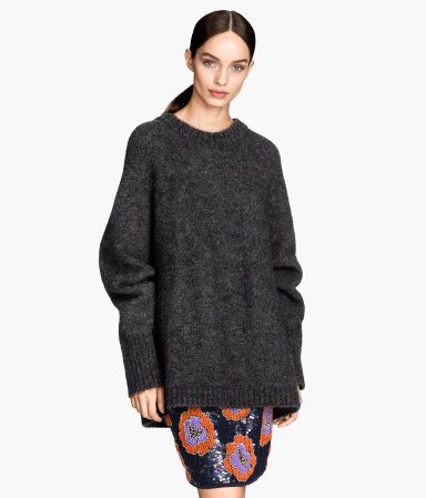 cb215b8171e H&M mohair blend sweater | want. | Cardigan sweaters for women ...