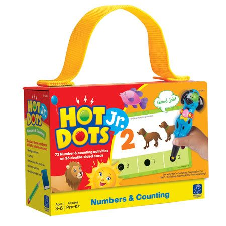 Hot Dots® Jr. Card Set Numbers & Counting