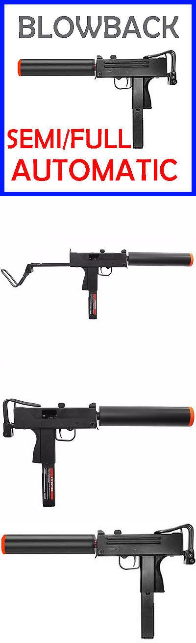 Pistol 160921: Airsoft Blowback Green Gas Mac 10 Semi Full