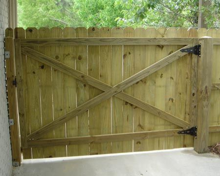 Wooden Gate Wooden Gate Building A Wooden Gate Wooden Gates Wooden Fence Gate