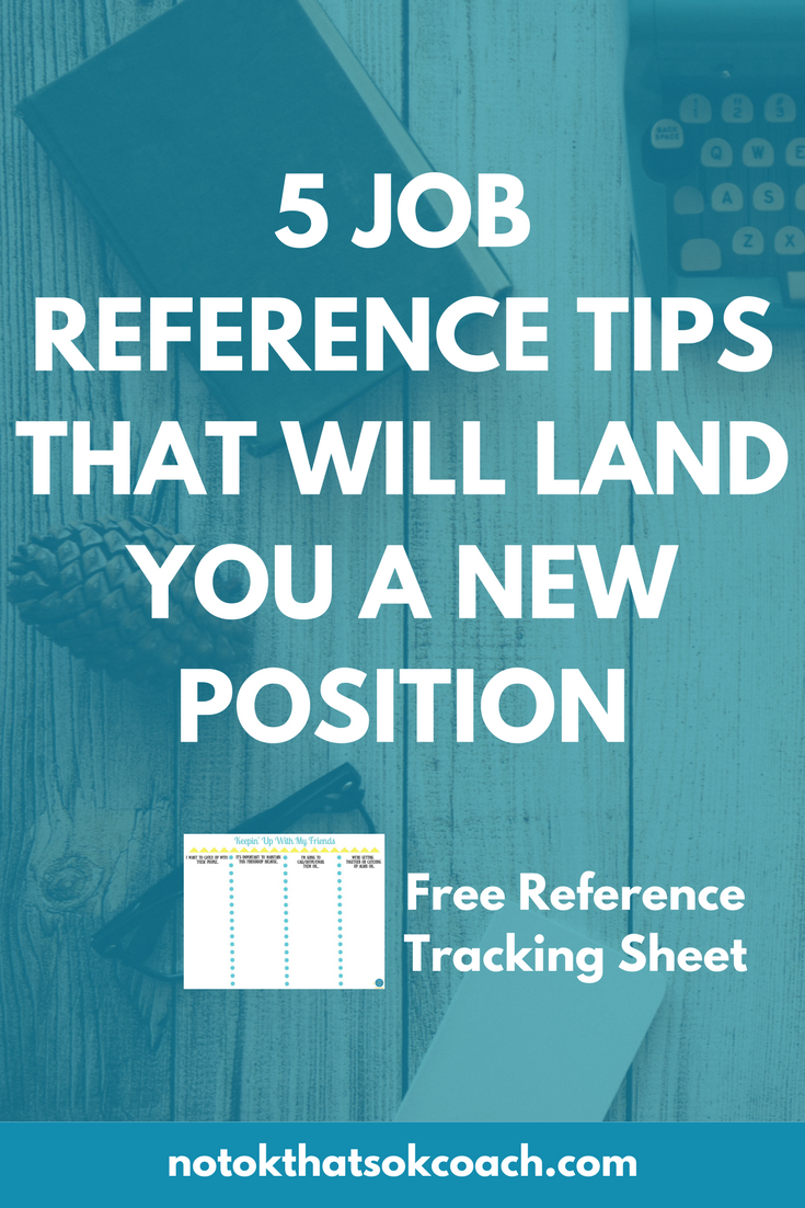 5 job reference tips that will land you a new position