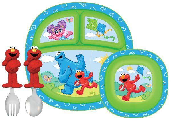 Munchkin Sesame Street Dining Set Amazon Baby K