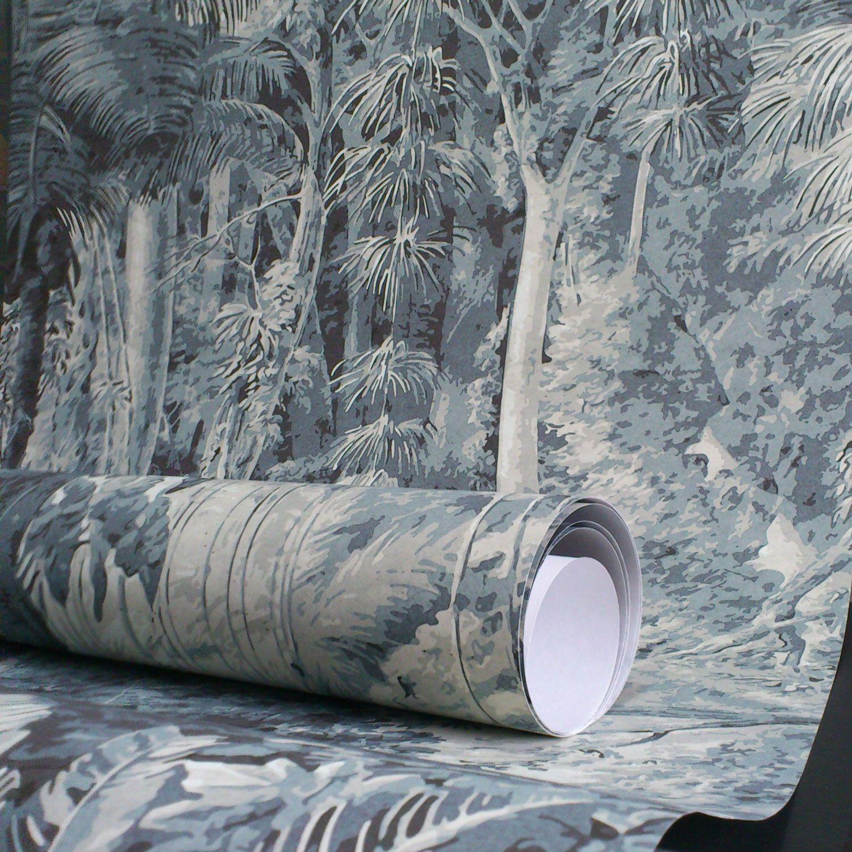 papier peint portrait de femme 18eme si cle papiers de paris bureau pinterest papier. Black Bedroom Furniture Sets. Home Design Ideas