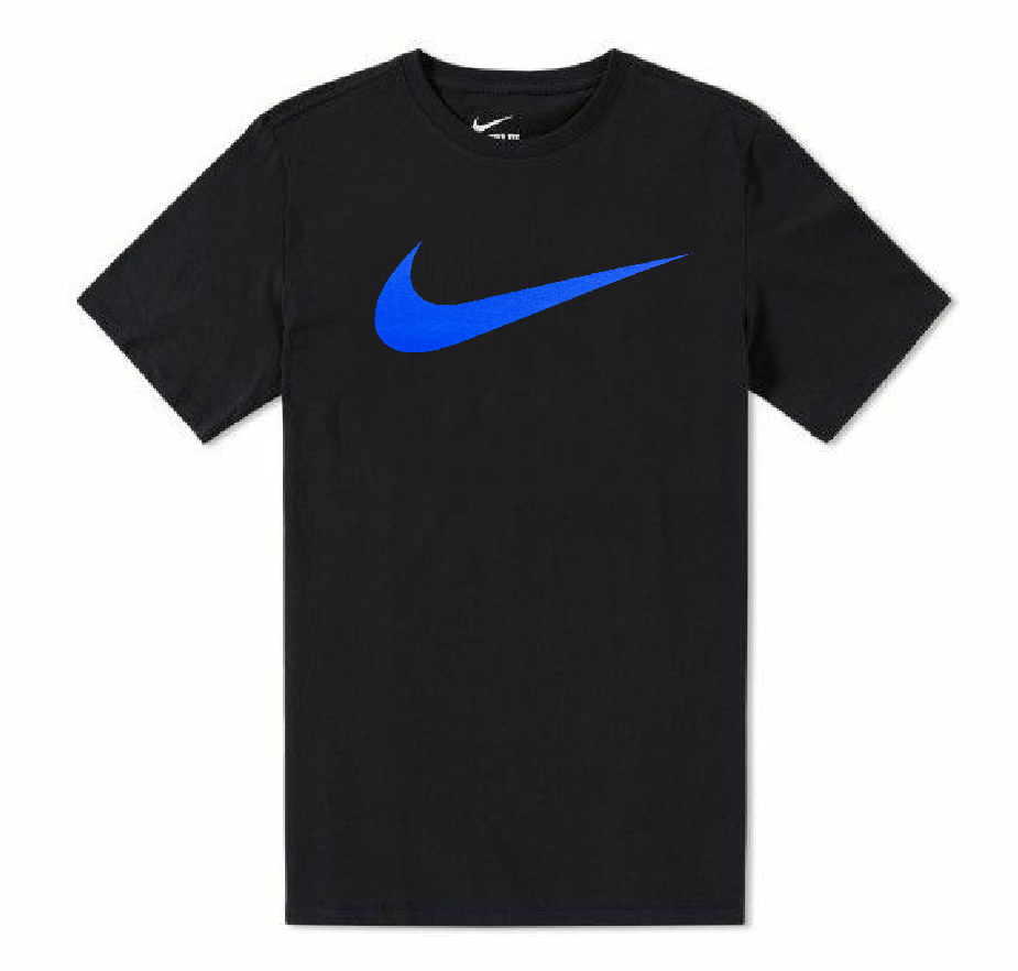 Nike Mens Just Do It Swoosh Graphic Logo Tee TShirt