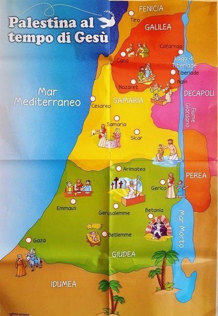 La Palestina Al Tempo Di Gesu Thinglink Nt Biblische