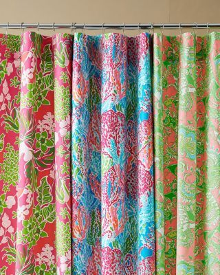 Lilly Pulitzer Sister Florals Shower Curtain Garnet Hill We Have