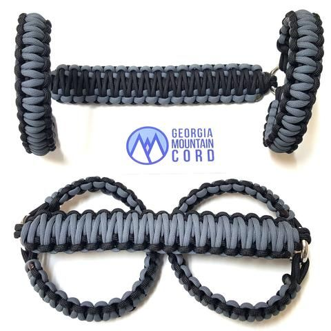 Paracord Front Grab Handles Roll Bar Mount For Jeep