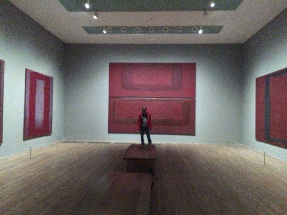 The Rothko room in the Tate modern. The Rothko room in the Tate modern   Tate Modern Museum