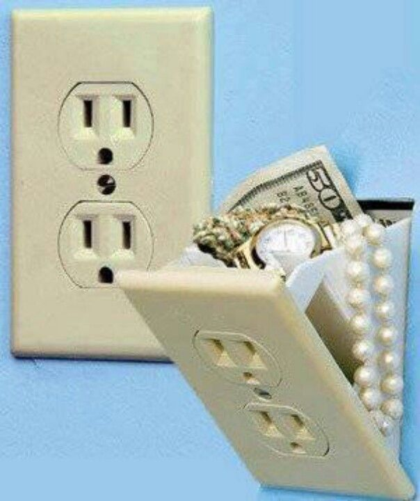 Smart idea to keep valuables hidden
