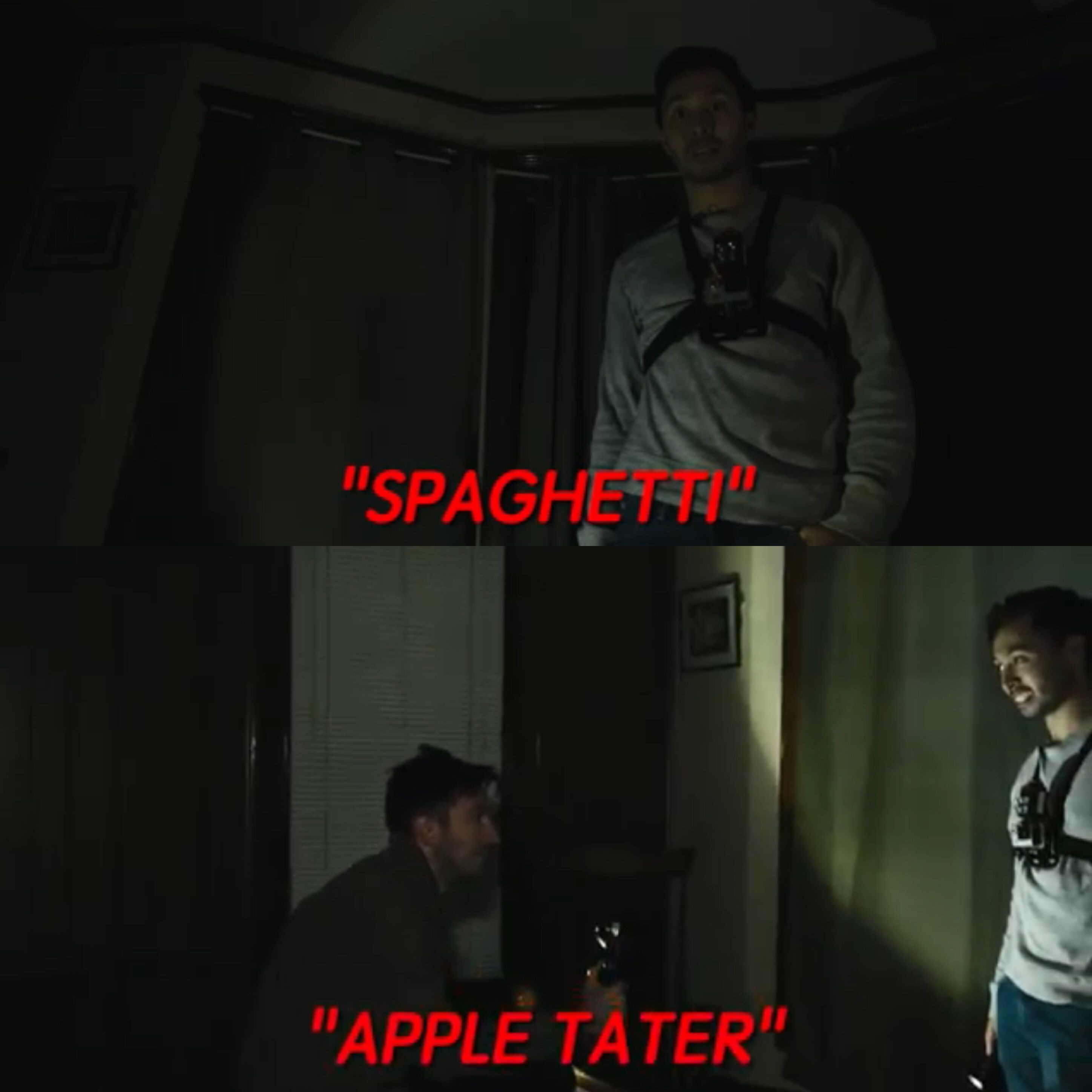 The ghost/demon that actually made Ryan laugh for once