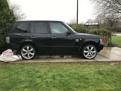 eBay: 2002 LAND ROVER RANGE ROVER HSE BLACK SPARES OR REPAIR swap/px