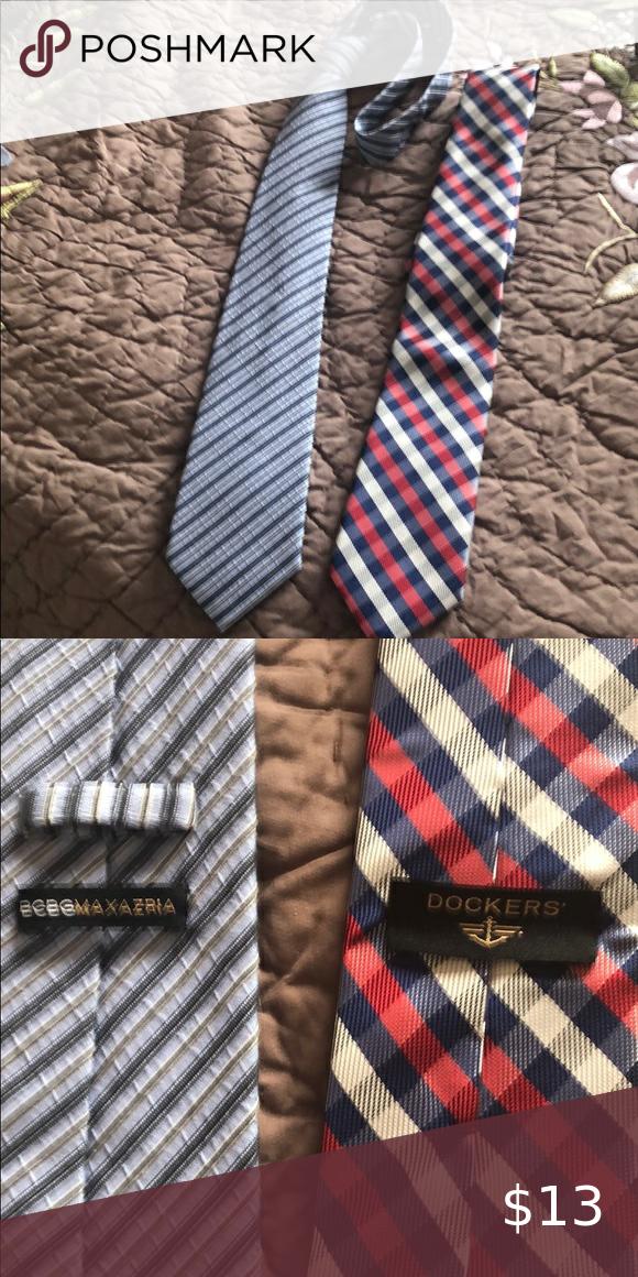 Two man's neck ties