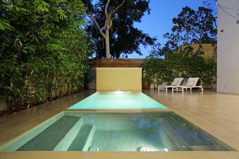 Modelos de dise os paisajistas con piscina 75 ideas piscinas jacuzzi y dise os de jardines - Piscinas con diseno ...