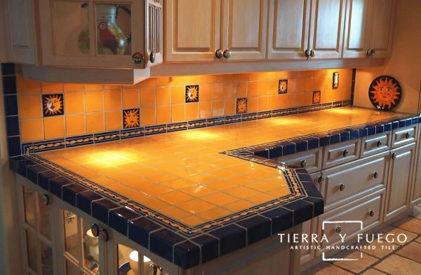 Talavera Mexican Tile Trims