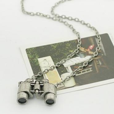 Discount China wholesale Design Hot Retro Style Amazing Telescope Pendant Necklace Silver [10051] - US$1.49 : chicoffer.com