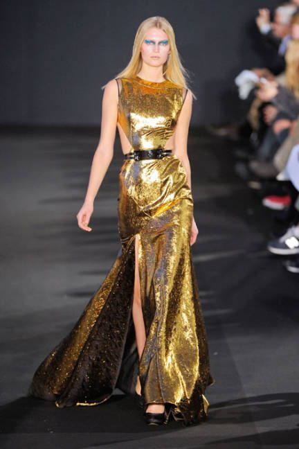 Top Trends From Fall 2012  That's it ladies - bring it up with gold and metallics!