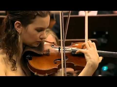Prokofiev, Violin Concerto No 1 in D major, Op 19.  Played by Anne Akiko Meyers, violin, and the EMF Orchestra at the Eastern Music Festival, Greensboro, July 25, 2015.