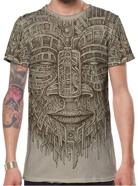 Hajotrawa Mens Printing Embroidered Casual Short Sleeve Tang-Suit Frog-Button Dragon Button Up Shirts