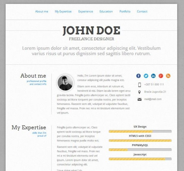 Pin by aryanabarcelona on hired Pinterest Cv resume template - resume web template