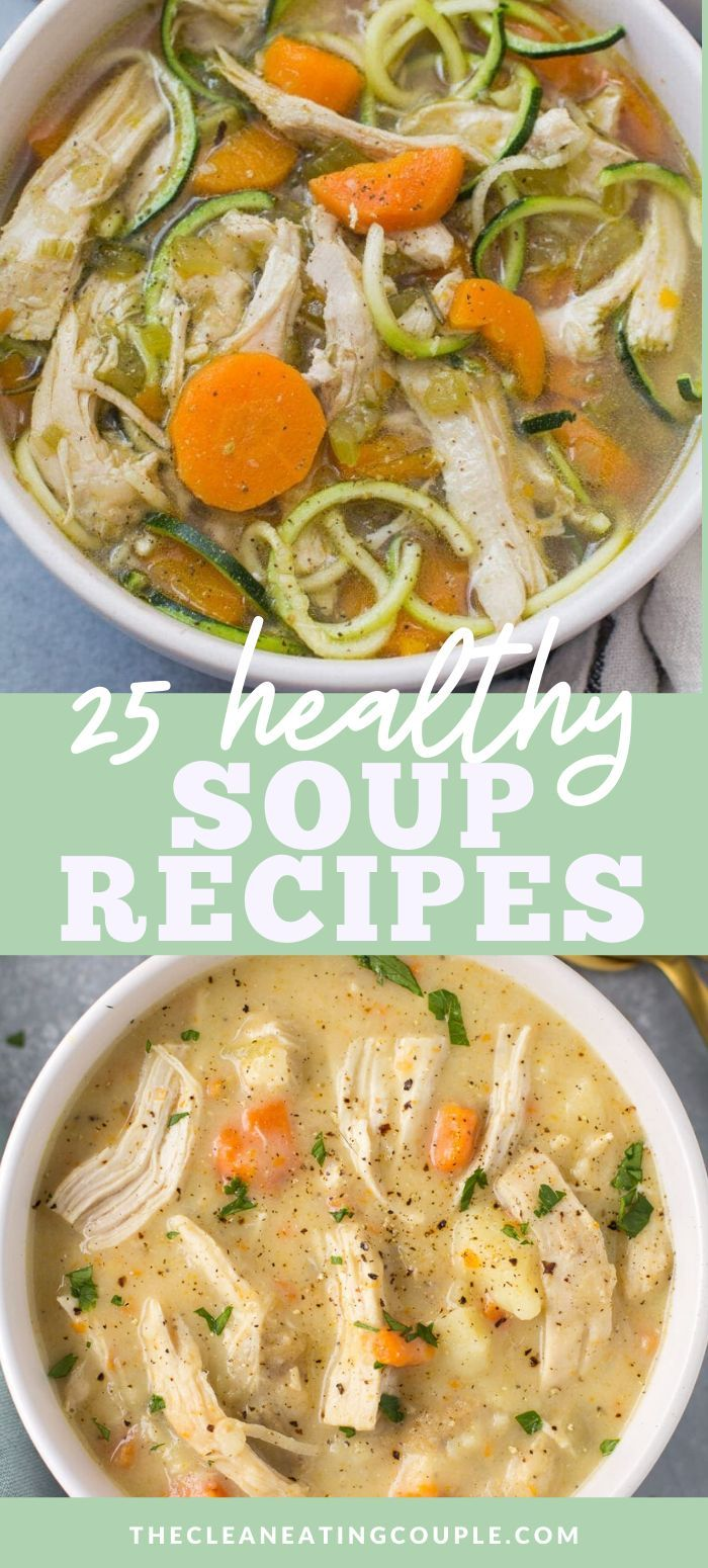 25 Healthy Soup Recipes