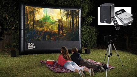 Outdoor Home Theatre Pack