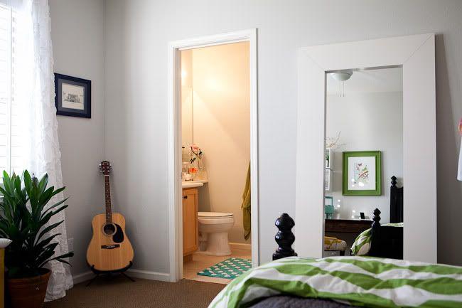 Dunn Edwards Foggy Day Living Room Loft Perfect Grey