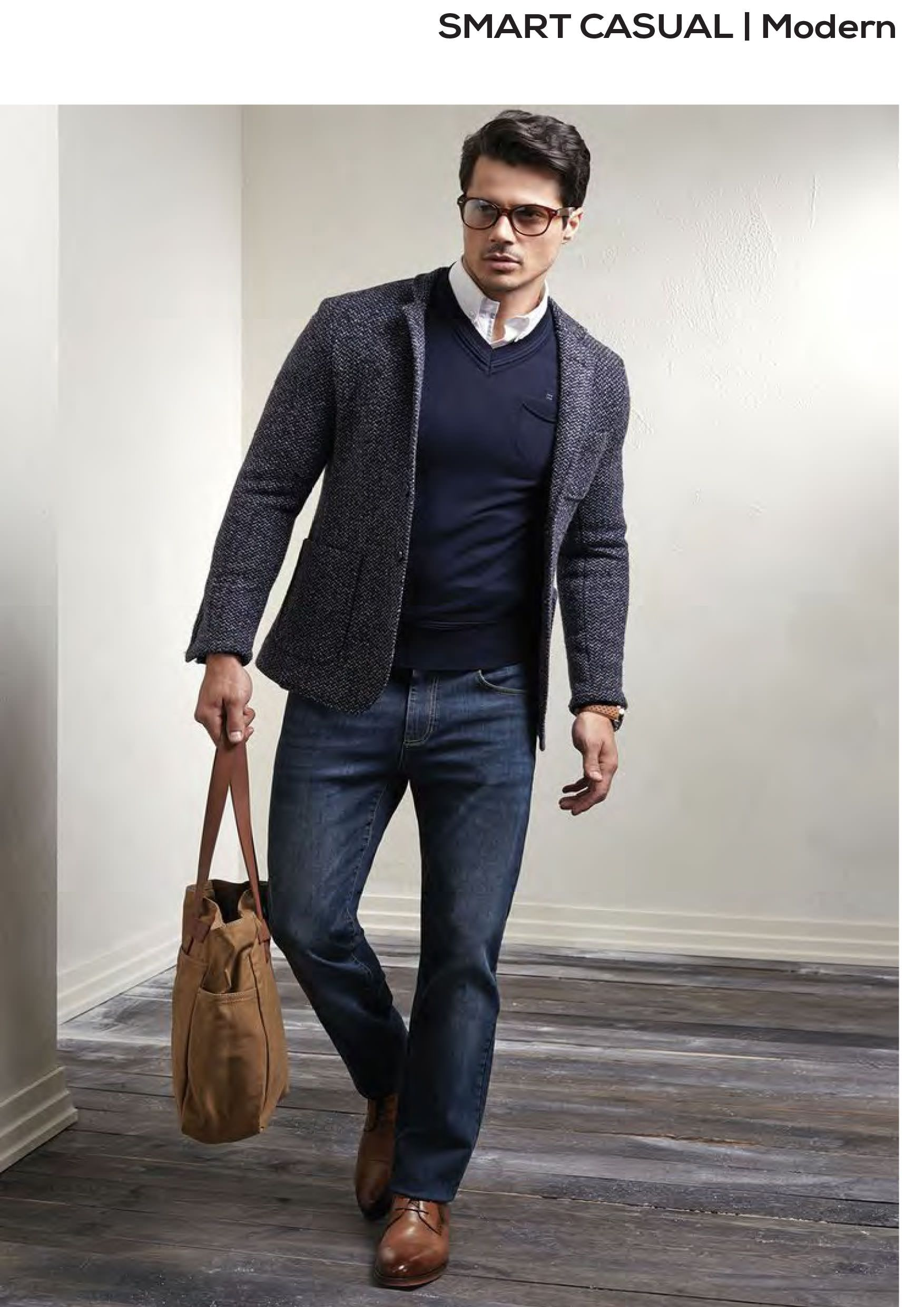best menswear smart casual modern look  with structured