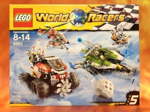 Lego 8863 World Racers Blizzards Peak FACTORY SEALED | Buying Toys ...
