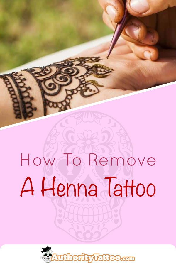 Everything You Need To Know About Removing A Henna Tattoo