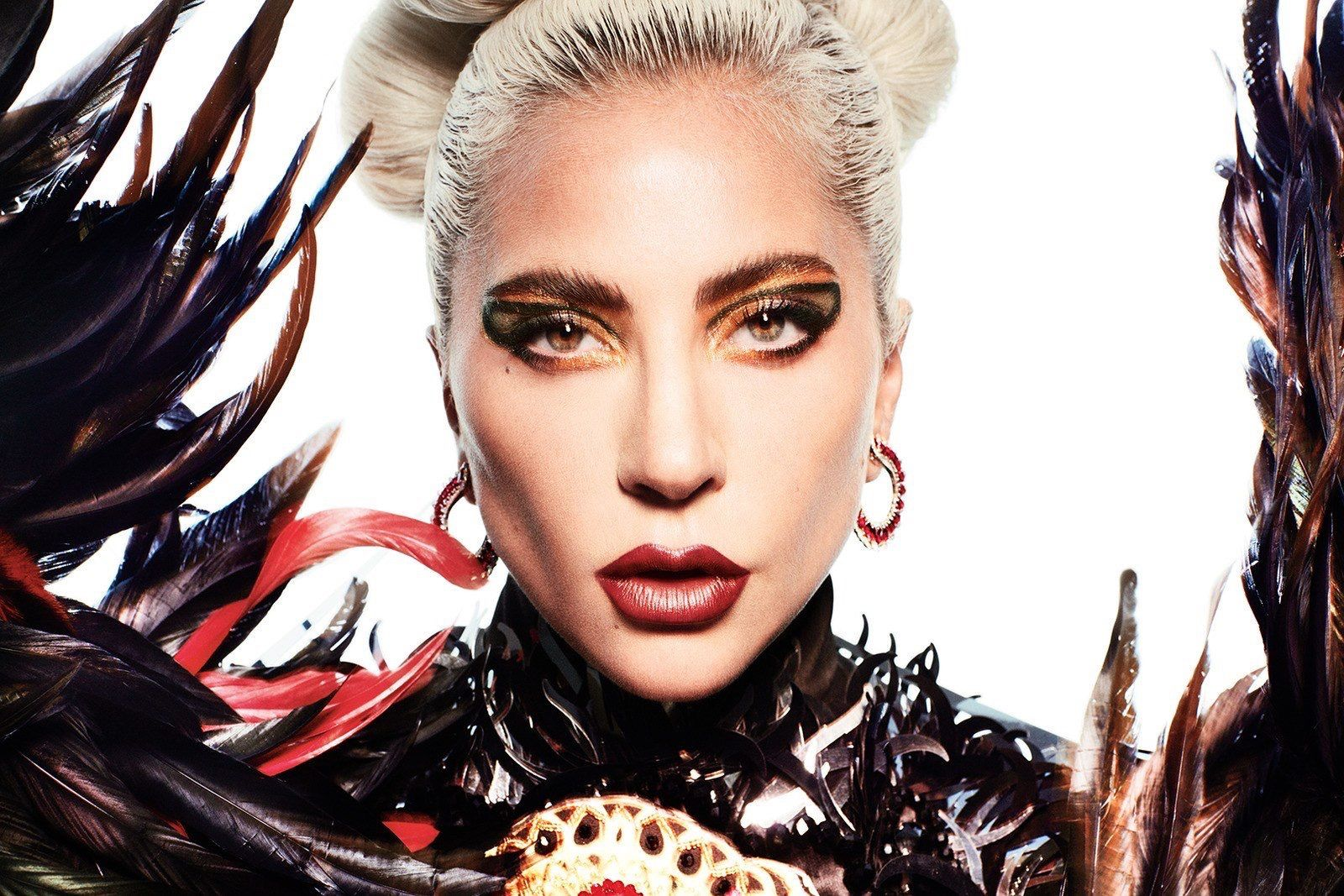 Lady Gaga 4 Germanotta American Singer Poster Pop Music Star Photo Beauty Lady
