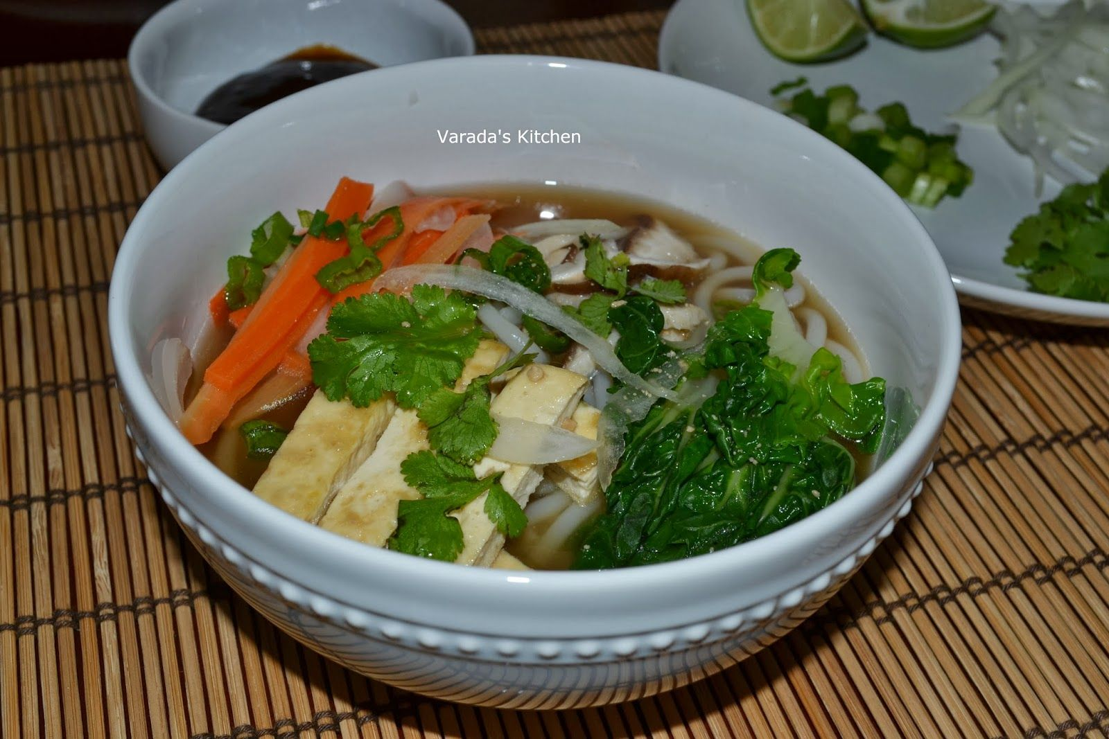 Vegetarian Pho - Varada's Kitchen