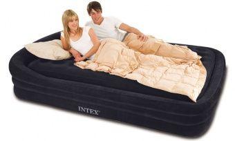 Intex Comfort Frame Queen Air Bed Air Mattress Mattress Bed