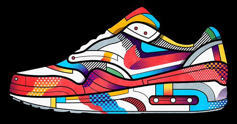 76501e315ed91f Pin by Sherrie Limbrick on Sneaker Art in 2019