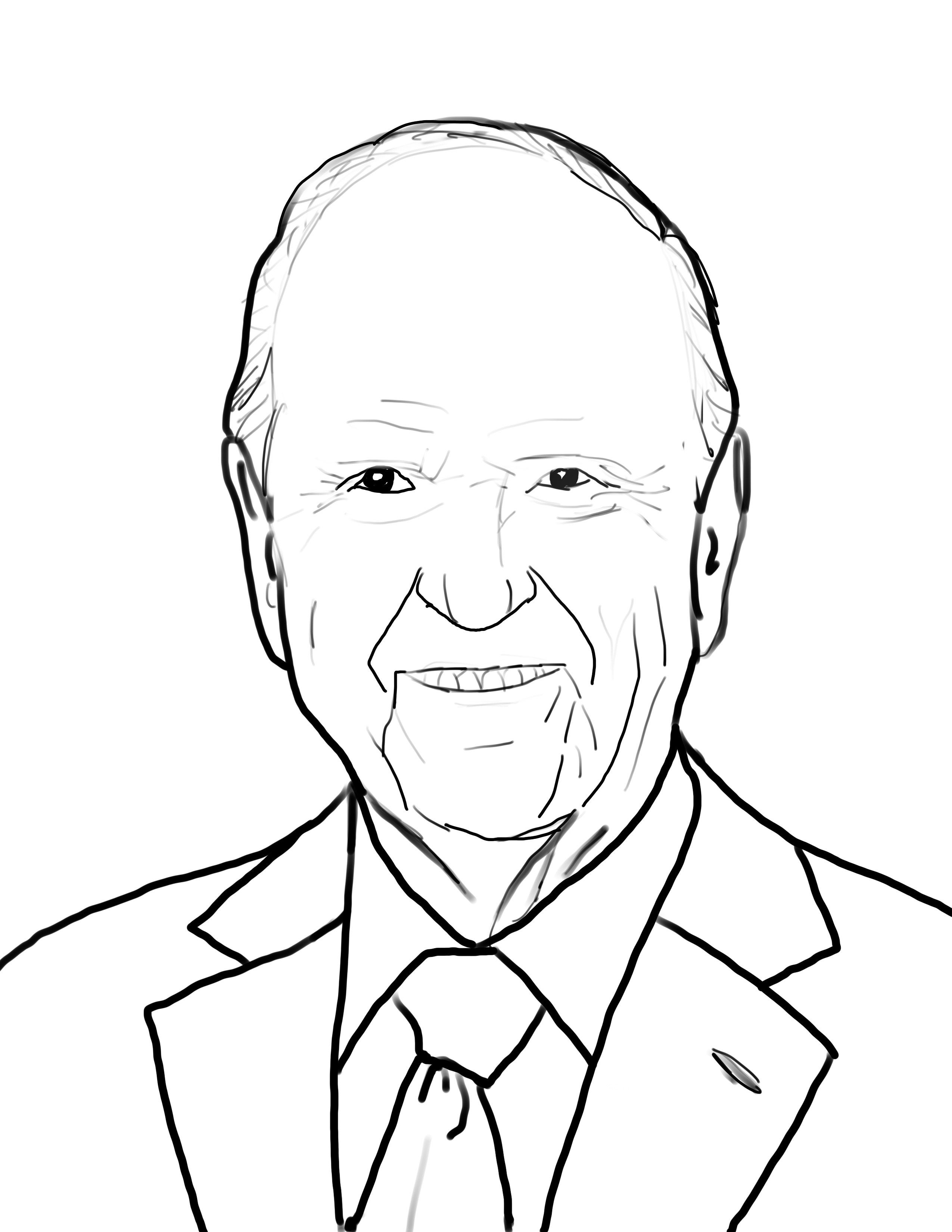 President Russell M Nelson Coloring page | General conference ...