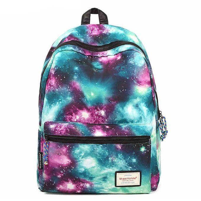 l'atteggiamento migliore 39d97 c5642 Amazon.com: Coofit® Galaxy Backpack Rucksack Casual Canvas ...
