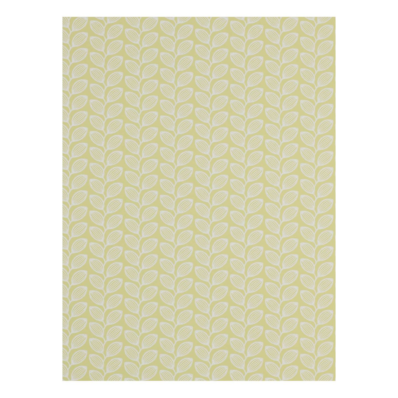 Buyjane churchill retro leaf wallpaper yellow jw online at