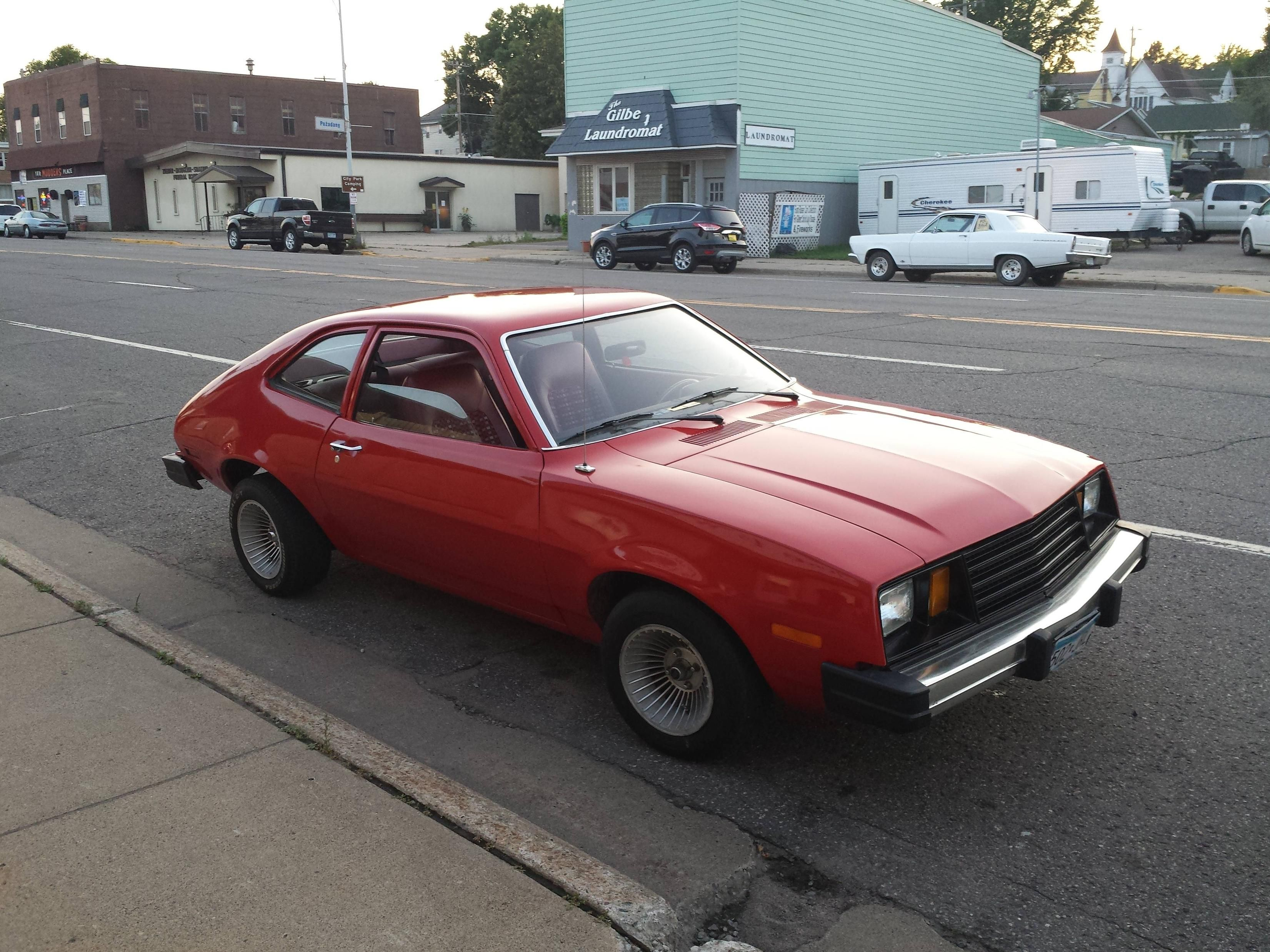 ford pinto red my