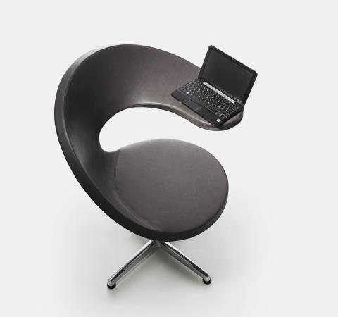 Une chaise pour votre micro portable Bureaus