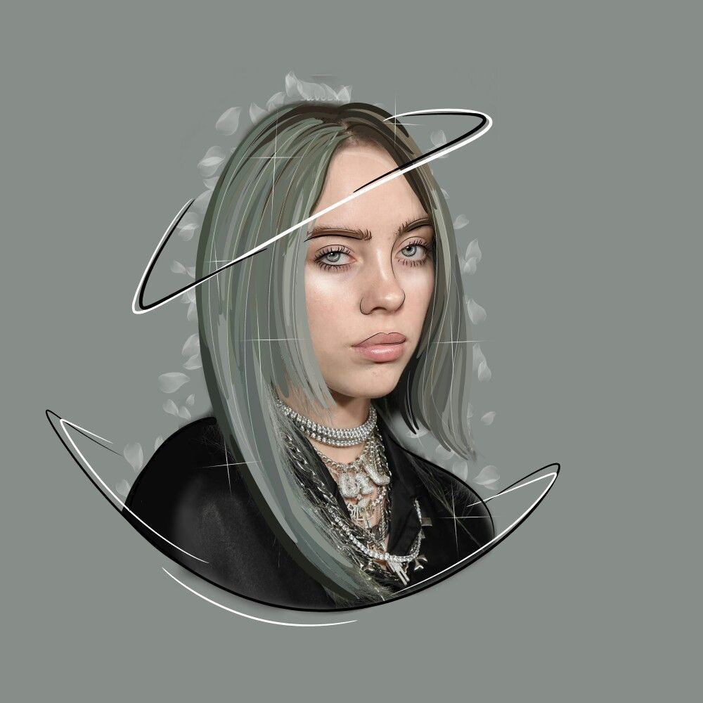 Art Billieeilish Billie Eilish Billie Cute Wallpapers