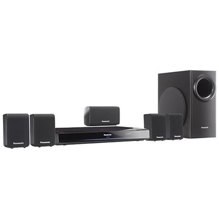 Panasonic 5 1 Home Theater Sound System With Dvd Player Sc Pt480p K Audioxs Denver