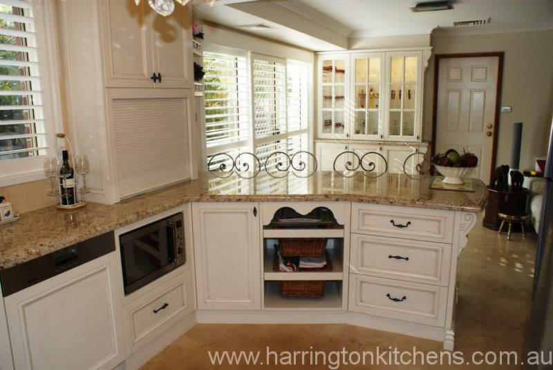 French Provincial Kitchen Design Harrington Kitchens