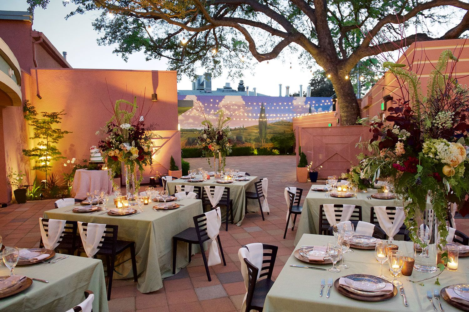 We Can Provide An Intimate Ceremony Wedding Reception At Enotria